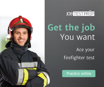 Practice test for fire fighter exam